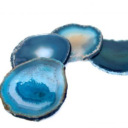 Agate Coasters, Home Decor, Office ..